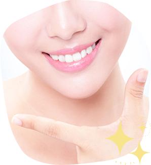 ご自身の歯で健康的な白い歯を